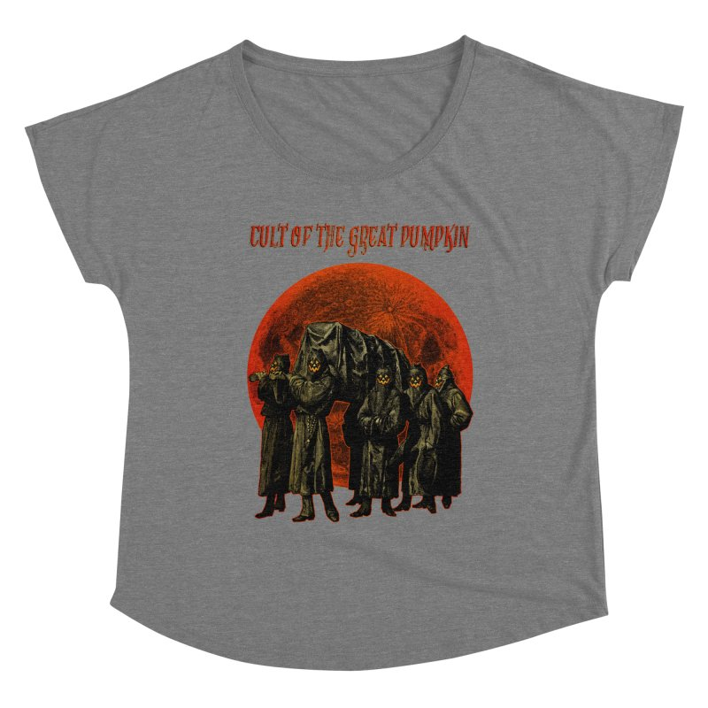 Cult of the Great Pumpkin: Pallbearers Women's Scoop Neck by The Dark Art of Chad Savage