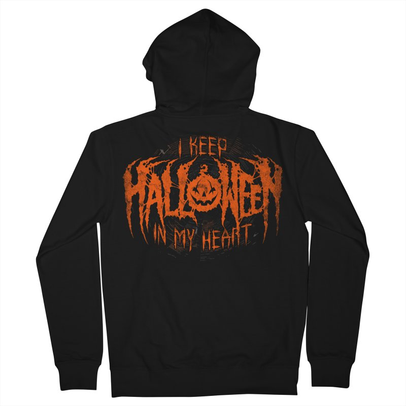 I Keep Halloween In My Heart   by The Dark Art of Chad Savage