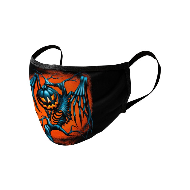Tricker Tree Accessories Face Mask by The Dark Art of Chad Savage