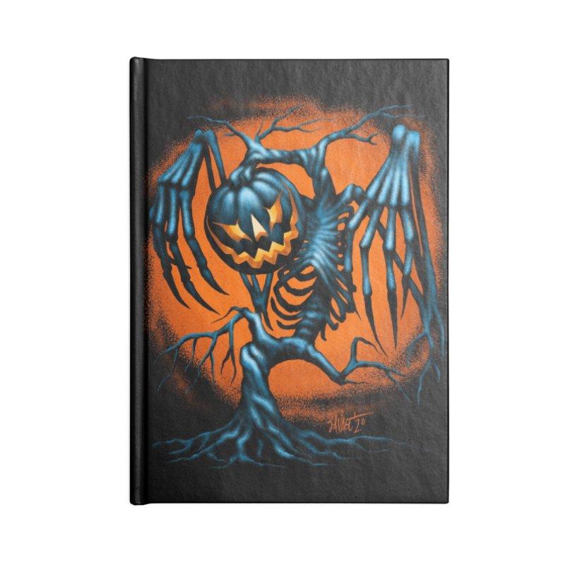 Tricker Tree Accessories Notebook by The Dark Art of Chad Savage