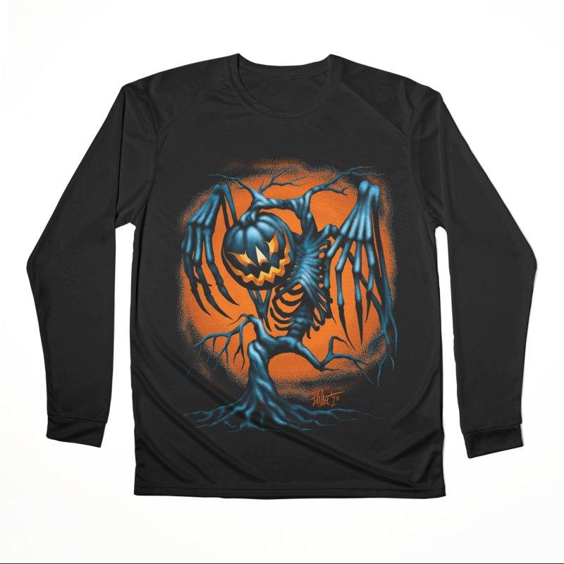 Tricker Tree Men's Longsleeve T-Shirt by The Dark Art of Chad Savage