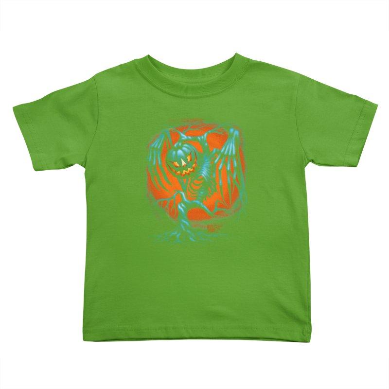 Tricker Tree Kids Toddler T-Shirt by The Dark Art of Chad Savage