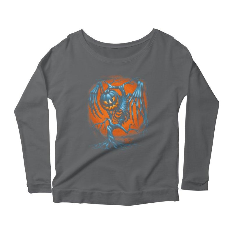 Tricker Tree Women's Longsleeve T-Shirt by The Dark Art of Chad Savage