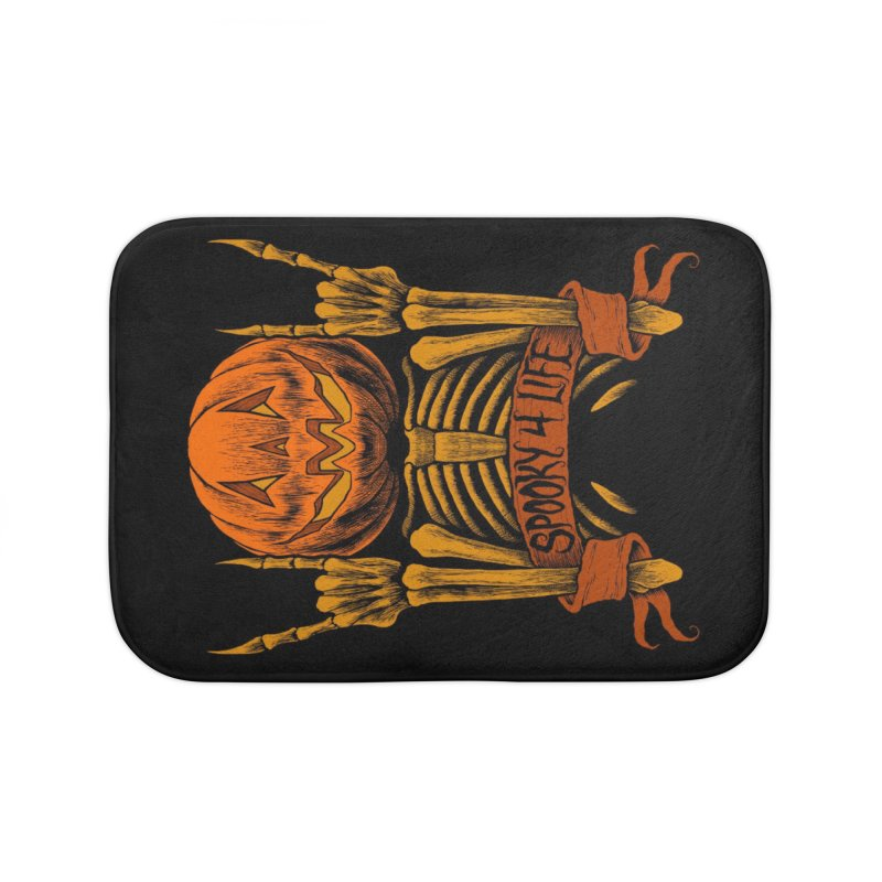 Spooky 4 Life Home Bath Mat by The Dark Art of Chad Savage