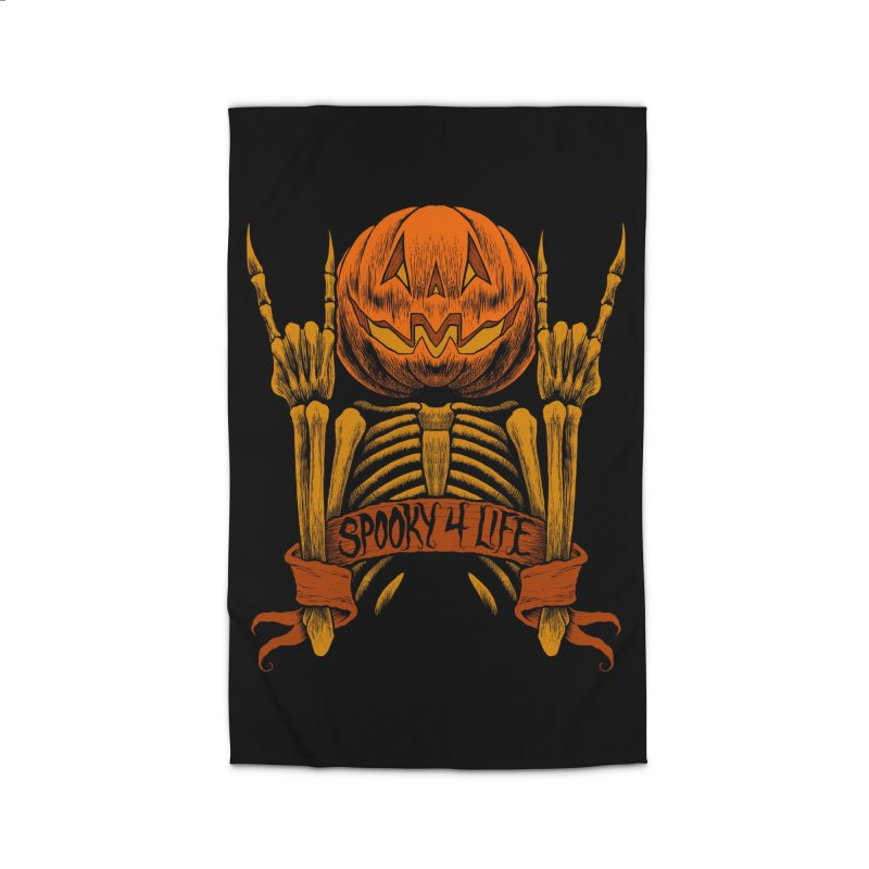 Spooky 4 Life Home Rug by The Dark Art of Chad Savage