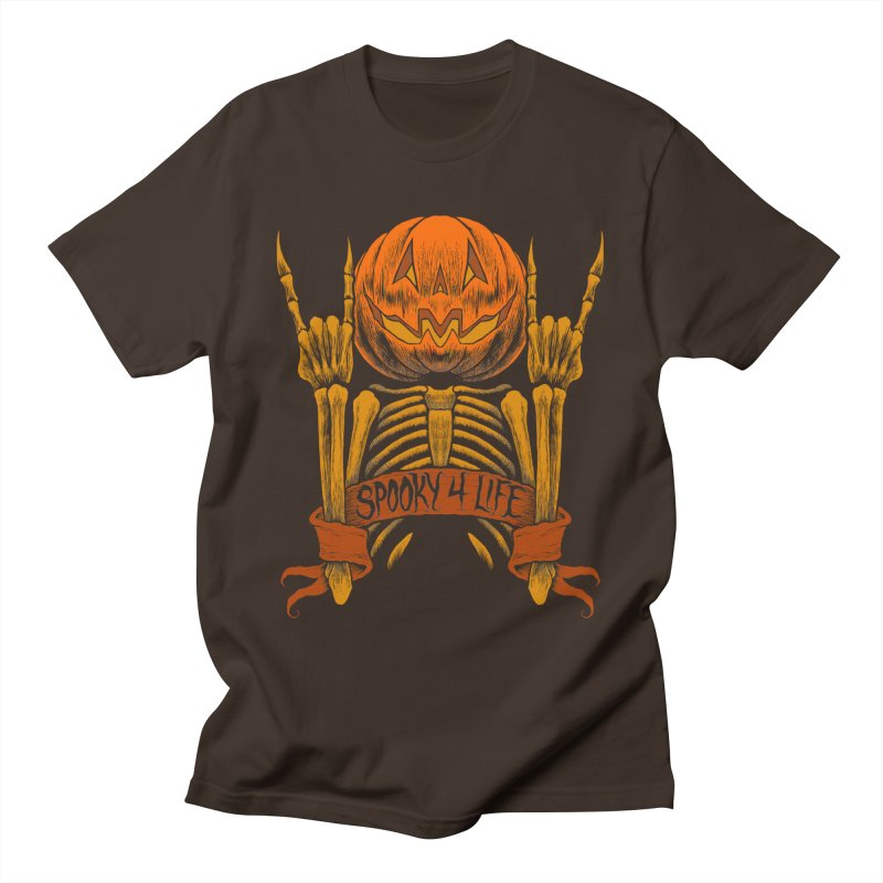 Spooky 4 Life Men's T-Shirt by The Dark Art of Chad Savage