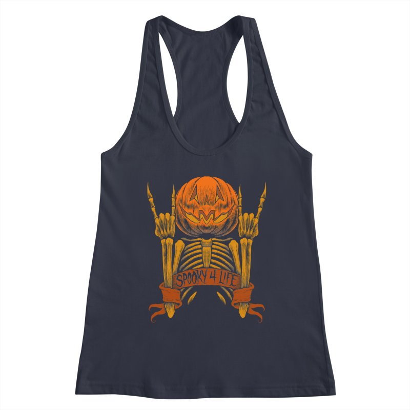 Spooky 4 Life Women's Tank by The Dark Art of Chad Savage