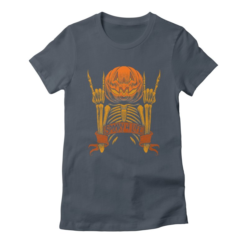 Spooky 4 Life Women's T-Shirt by The Dark Art of Chad Savage