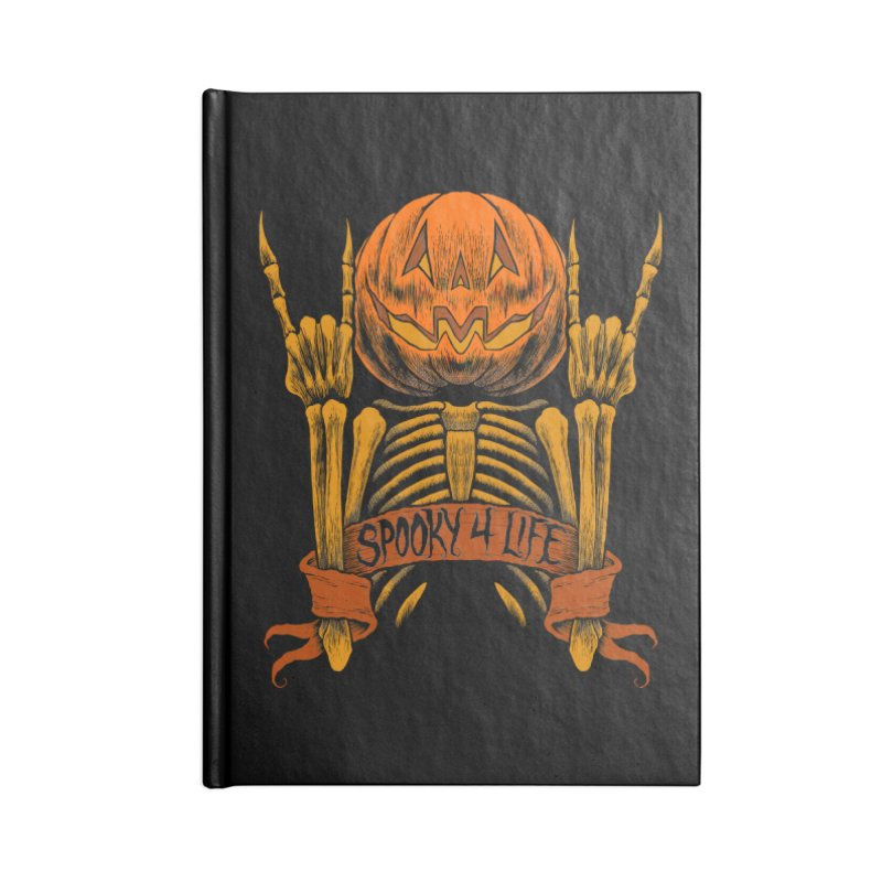 Spooky 4 Life Accessories Notebook by The Dark Art of Chad Savage