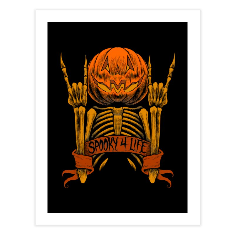 Spooky 4 Life Home Fine Art Print by The Dark Art of Chad Savage