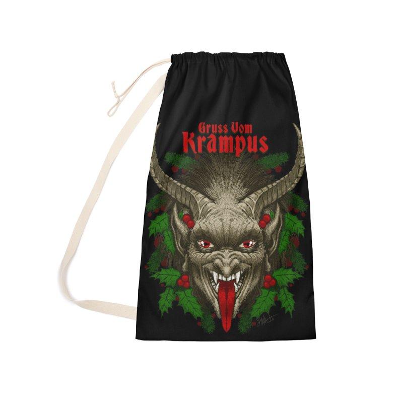 Gruss vom Krampus by Chad Savage Accessories Bag by The Dark Art of Chad Savage