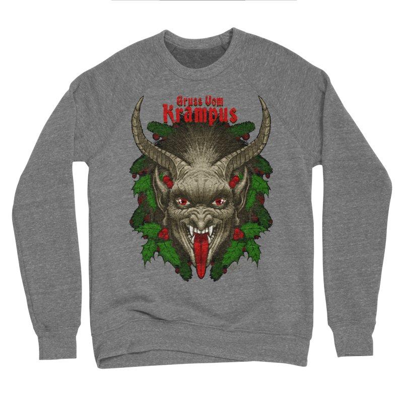 Gruss vom Krampus by Chad Savage Women's Sweatshirt by The Dark Art of Chad Savage