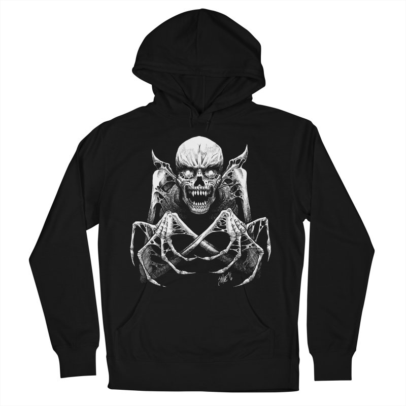 Necromancer Women's French Terry Pullover Hoody by The Dark Art of Chad Savage