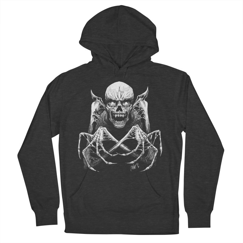 Necromancer Men's French Terry Pullover Hoody by The Dark Art of Chad Savage