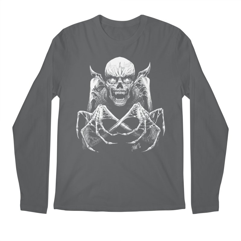 Necromancer Men's Longsleeve T-Shirt by The Dark Art of Chad Savage