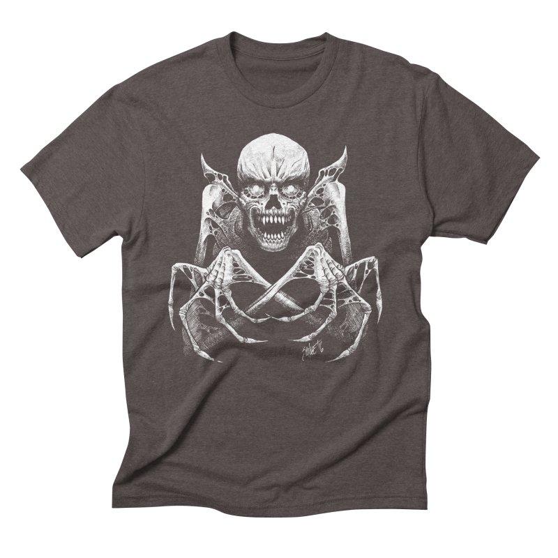 Necromancer Men's Triblend T-Shirt by The Dark Art of Chad Savage