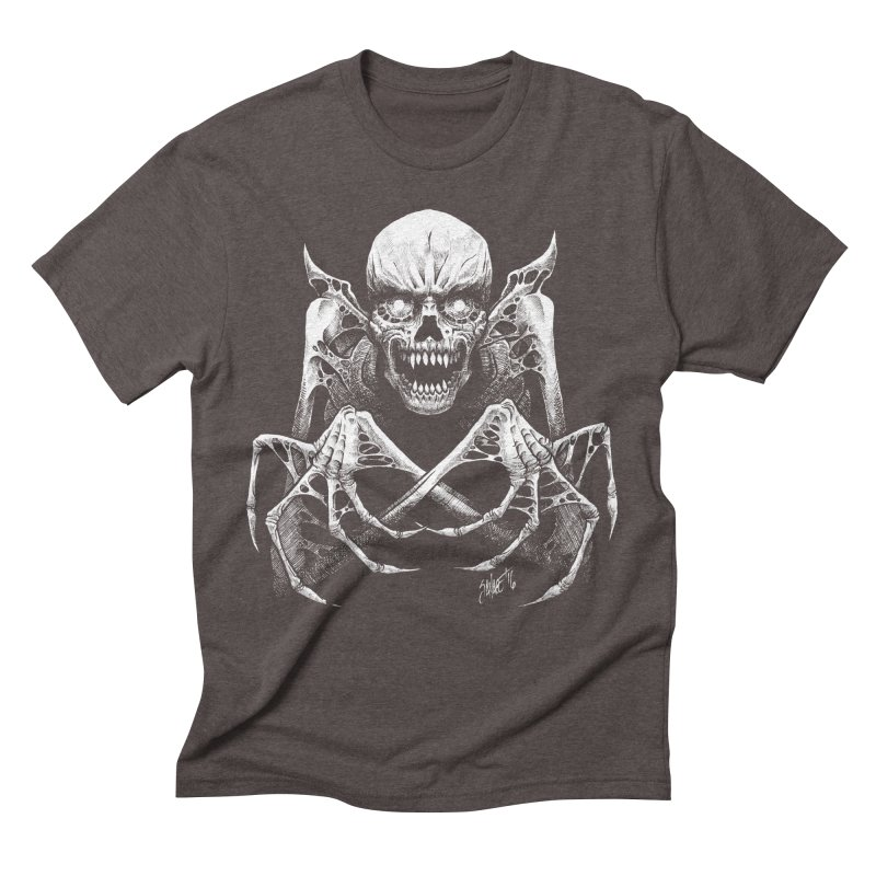Necromancer Men's Triblend T-shirt by The Dark Art of Chad Savage