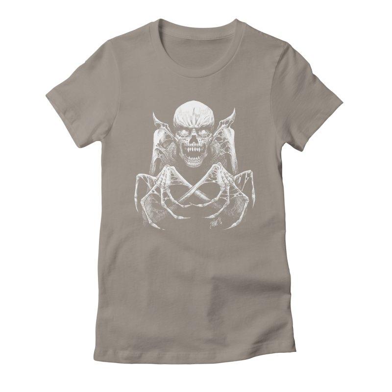 Necromancer Women's T-Shirt by The Dark Art of Chad Savage