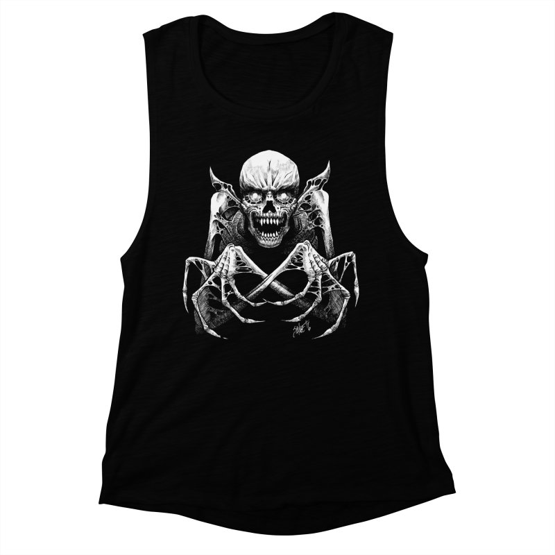 Necromancer Women's Muscle Tank by The Dark Art of Chad Savage