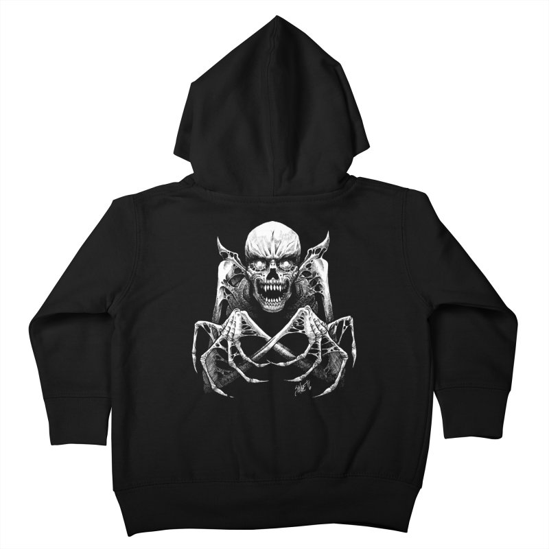Necromancer Kids Toddler Zip-Up Hoody by The Dark Art of Chad Savage