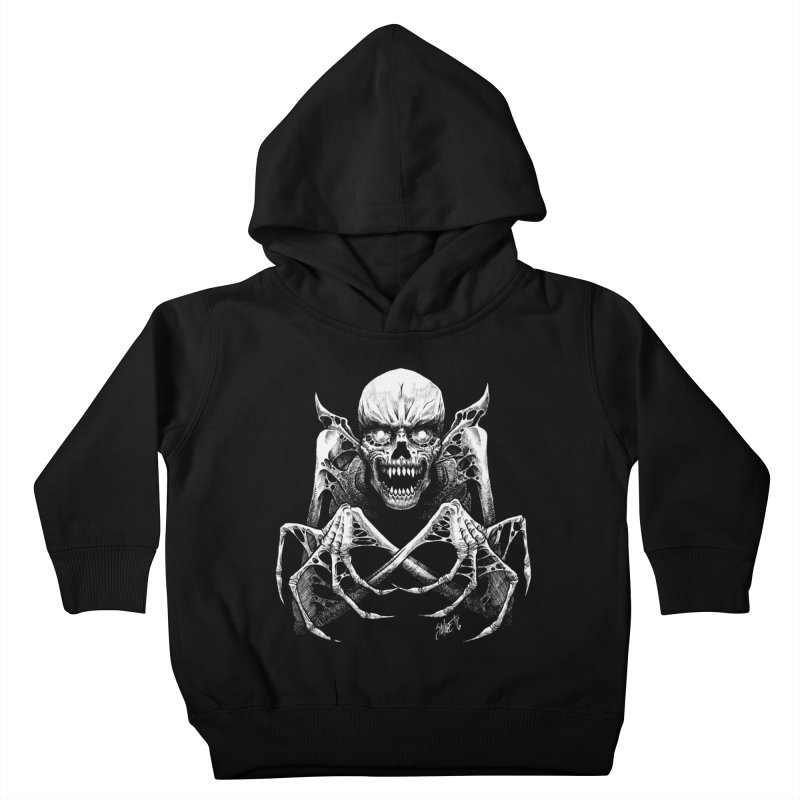 Necromancer Kids Toddler Pullover Hoody by The Dark Art of Chad Savage