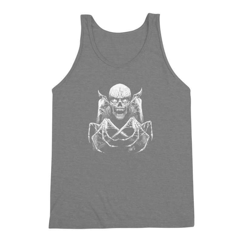 Necromancer Men's Triblend Tank by The Dark Art of Chad Savage