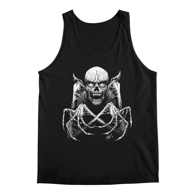 Necromancer Men's Regular Tank by The Dark Art of Chad Savage