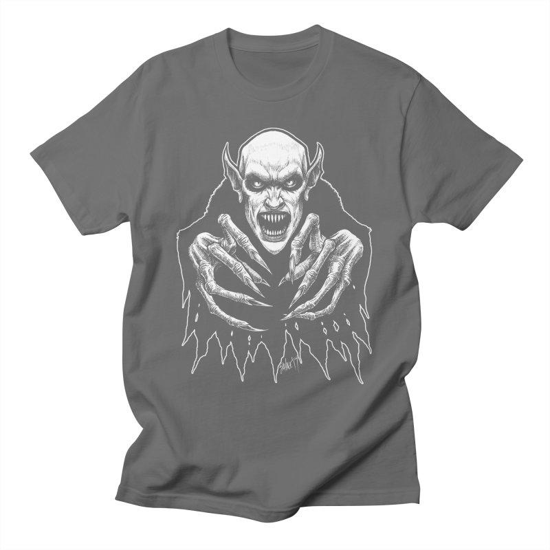 Nosfera-tude Men's T-Shirt by The Dark Art of Chad Savage