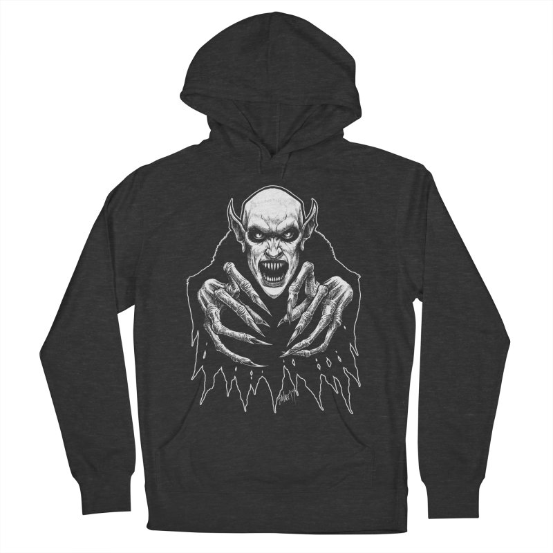 Nosfera-tude Men's French Terry Pullover Hoody by The Dark Art of Chad Savage