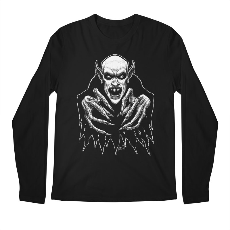 Nosfera-tude Men's Regular Longsleeve T-Shirt by The Dark Art of Chad Savage