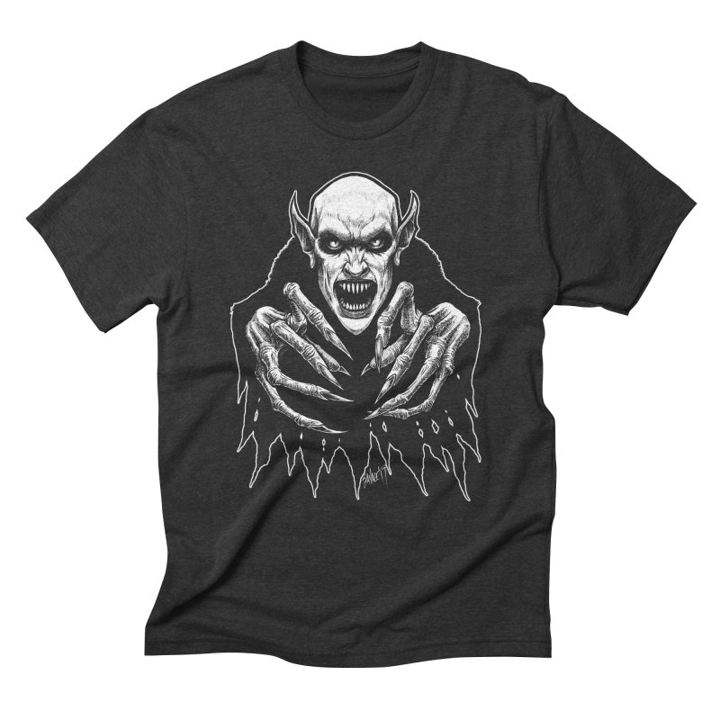 Nosfera-tude Men's Triblend T-Shirt by The Dark Art of Chad Savage