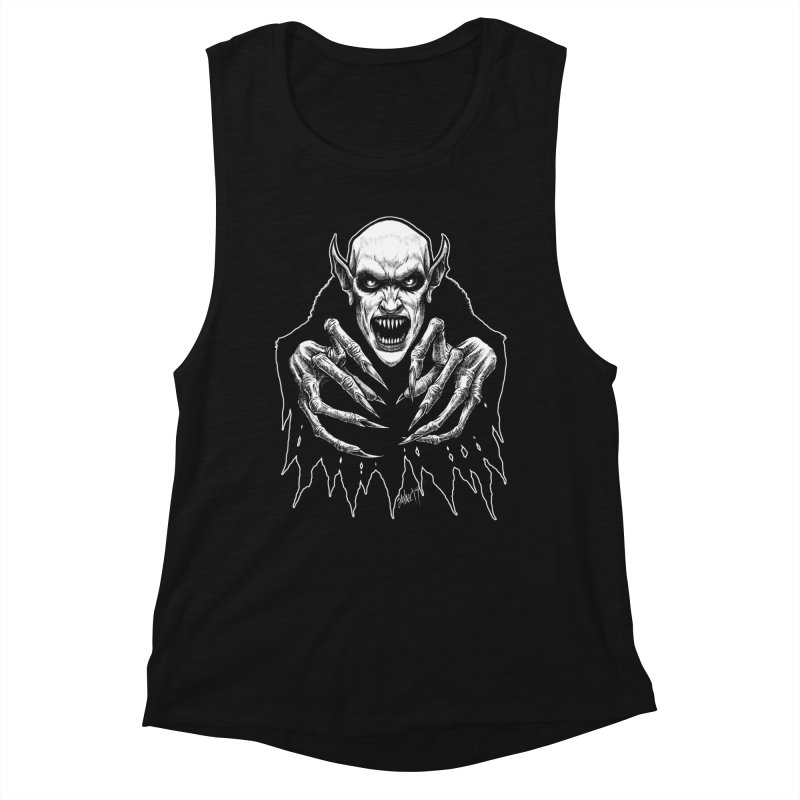 Nosfera-tude Women's Muscle Tank by The Dark Art of Chad Savage