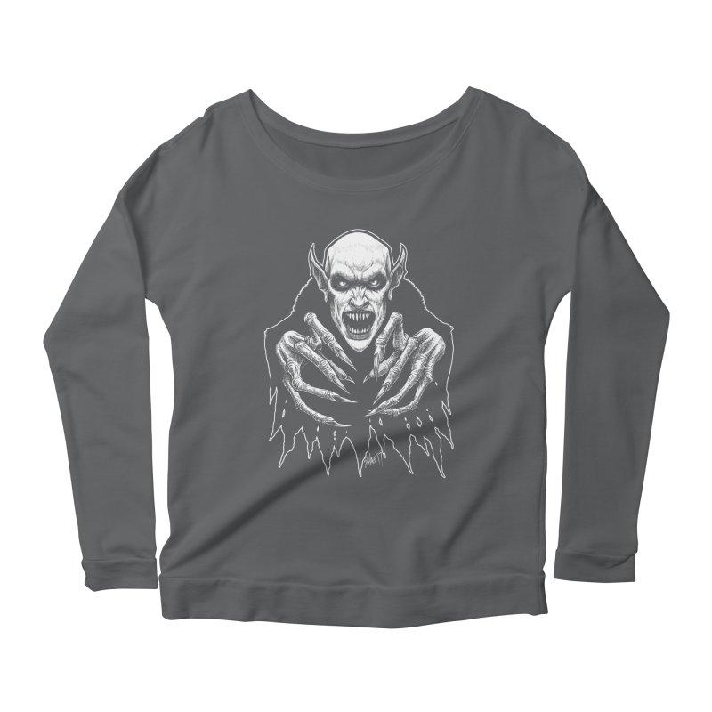 Nosfera-tude Women's Longsleeve T-Shirt by The Dark Art of Chad Savage