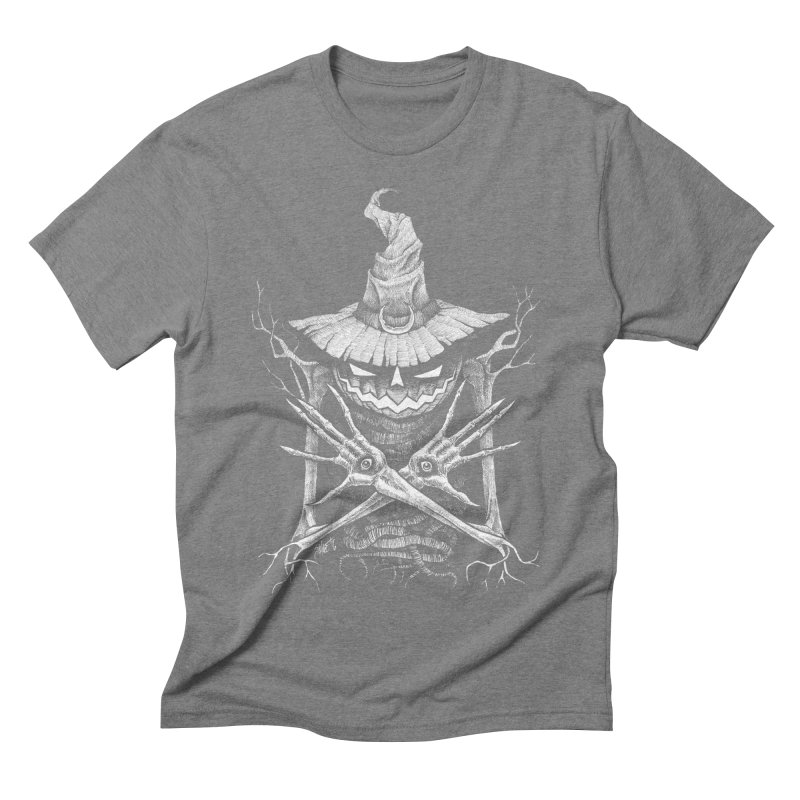 Summoner Men's Triblend T-shirt by The Dark Art of Chad Savage