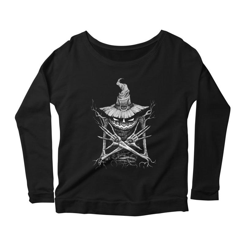 Summoner Women's Scoop Neck Longsleeve T-Shirt by The Dark Art of Chad Savage