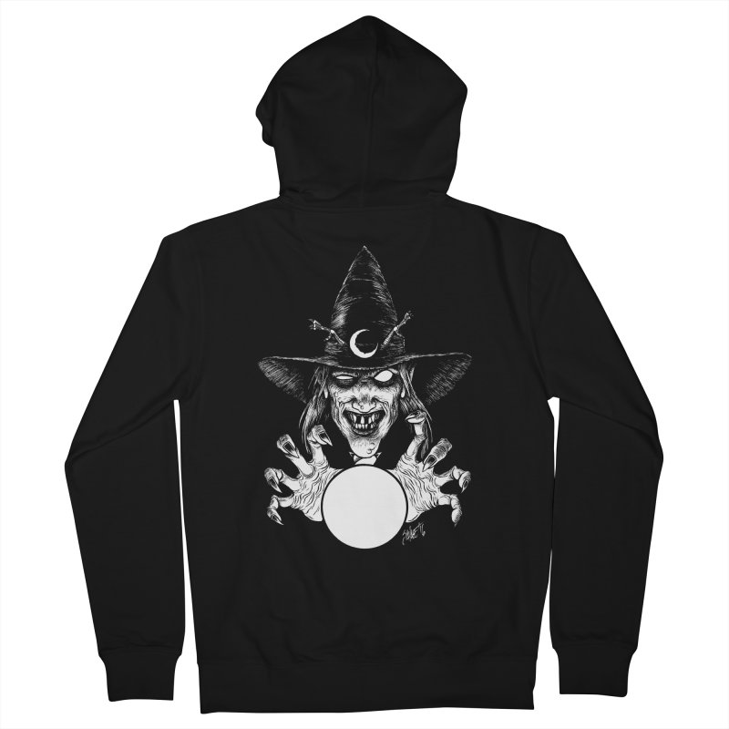 Thaumaturge Men's French Terry Zip-Up Hoody by The Dark Art of Chad Savage