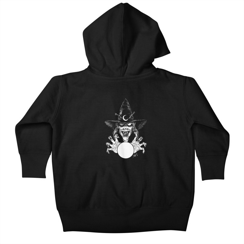 Thaumaturge Kids Baby Zip-Up Hoody by The Dark Art of Chad Savage