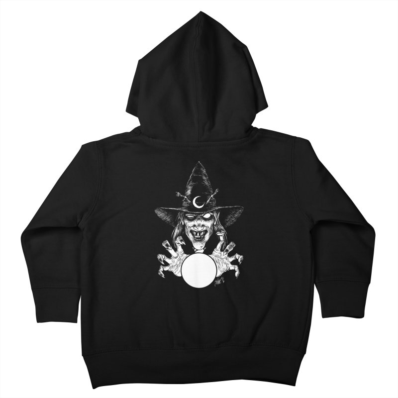 Thaumaturge Kids Toddler Zip-Up Hoody by The Dark Art of Chad Savage
