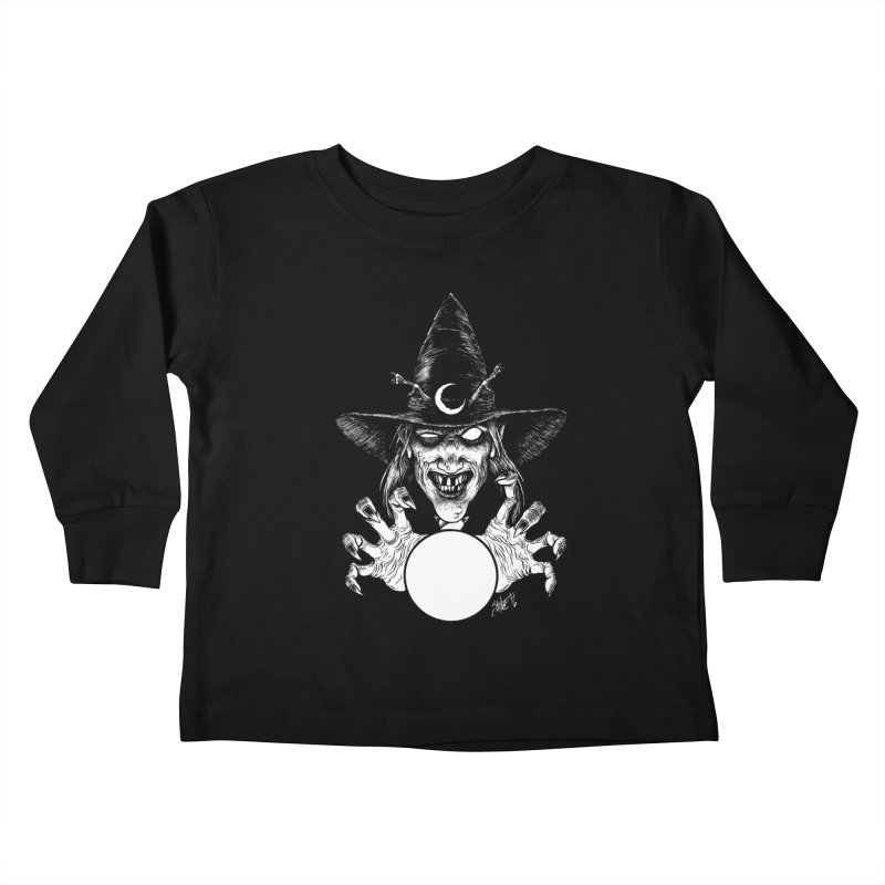 Thaumaturge Kids Toddler Longsleeve T-Shirt by The Dark Art of Chad Savage