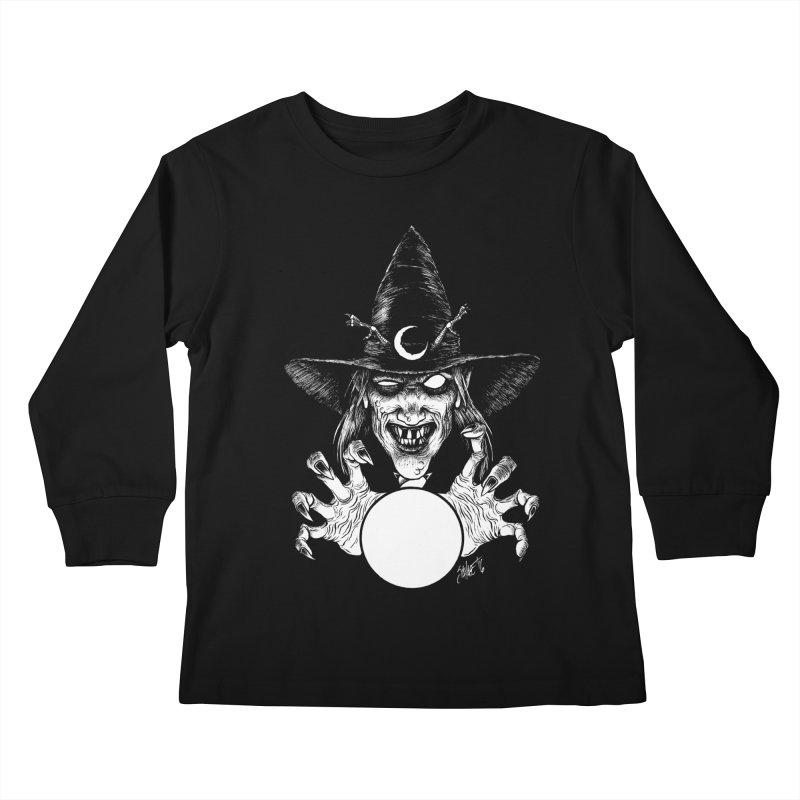 Thaumaturge Kids Longsleeve T-Shirt by The Dark Art of Chad Savage