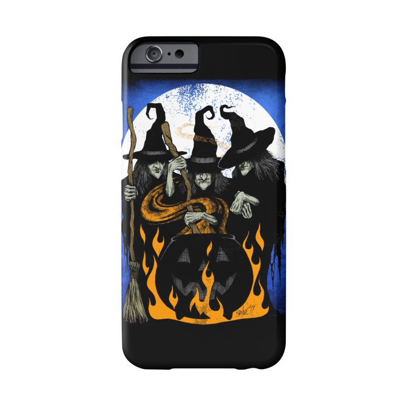 Cauldron Crones Accessories Phone Case by The Dark Art of Chad Savage