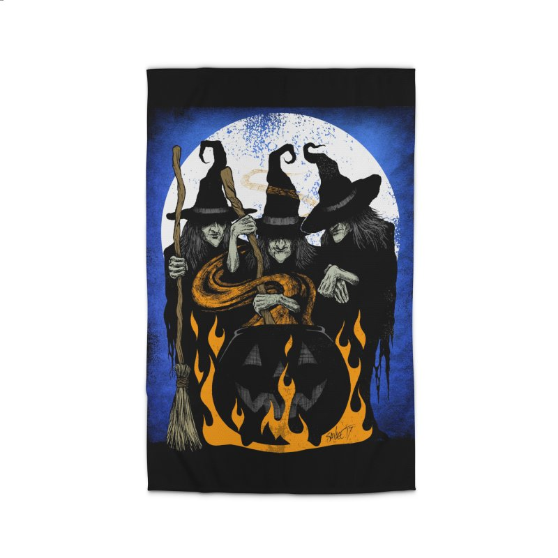 Cauldron Crones Home Rug by The Dark Art of Chad Savage