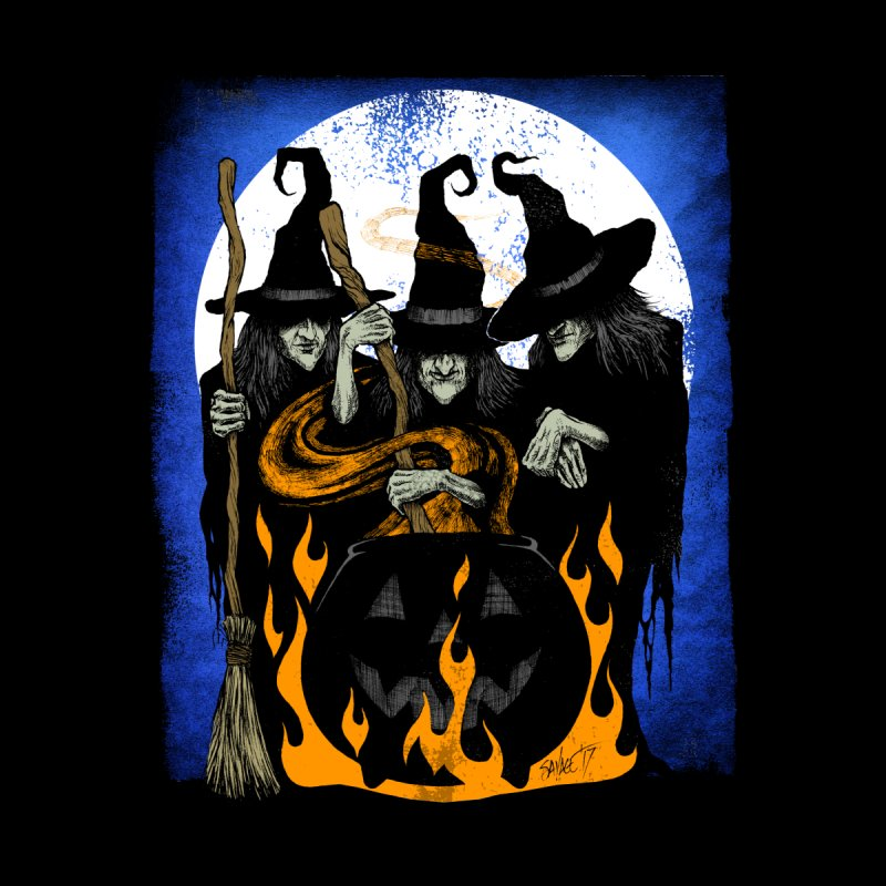 Cauldron Crones by The Dark Art of Chad Savage