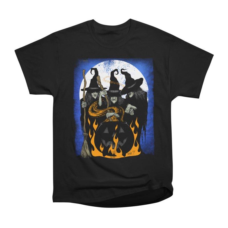 Cauldron Crones Men's T-Shirt by The Dark Art of Chad Savage