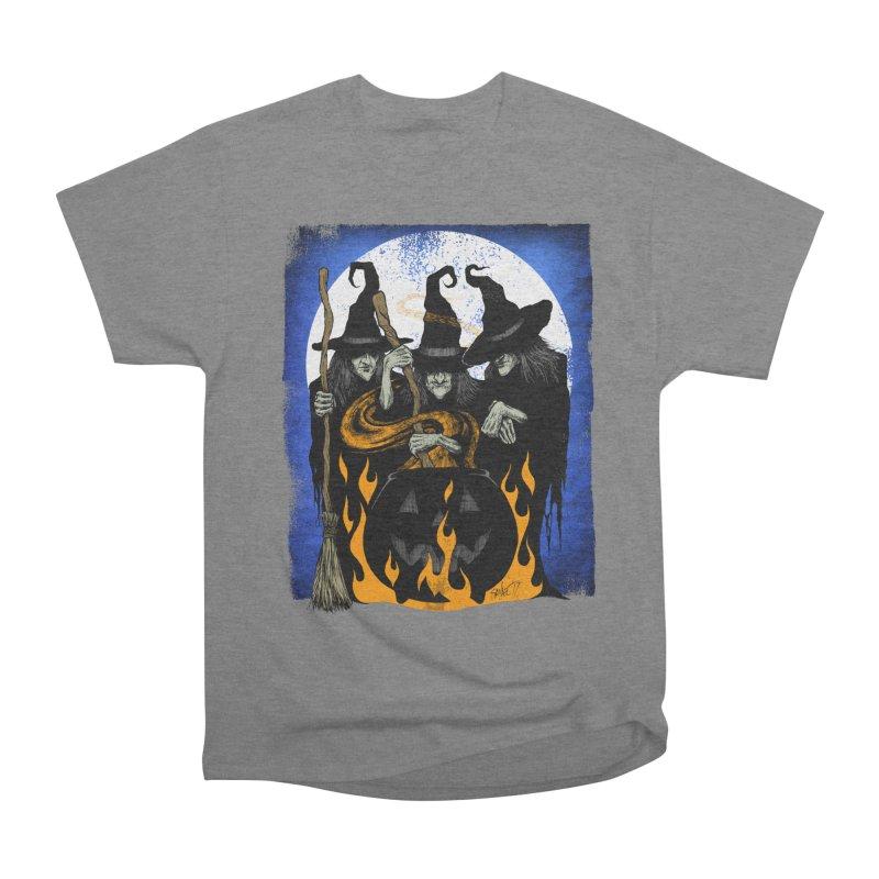 Cauldron Crones Women's T-Shirt by The Dark Art of Chad Savage
