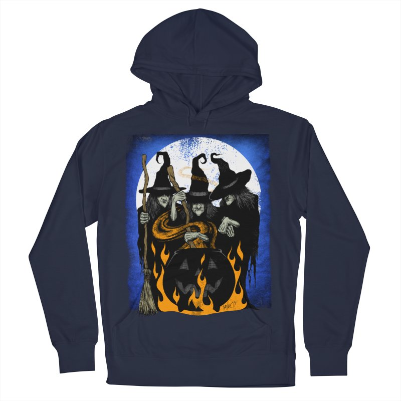 Cauldron Crones Women's French Terry Pullover Hoody by The Dark Art of Chad Savage
