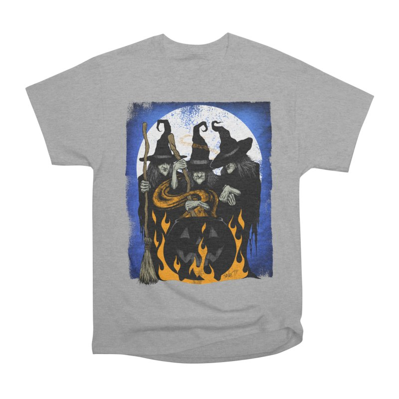 Cauldron Crones Women's Classic Unisex T-Shirt by The Dark Art of Chad Savage