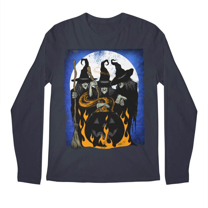 Cauldron Crones Men's Regular Longsleeve T-Shirt by The Dark Art of Chad Savage
