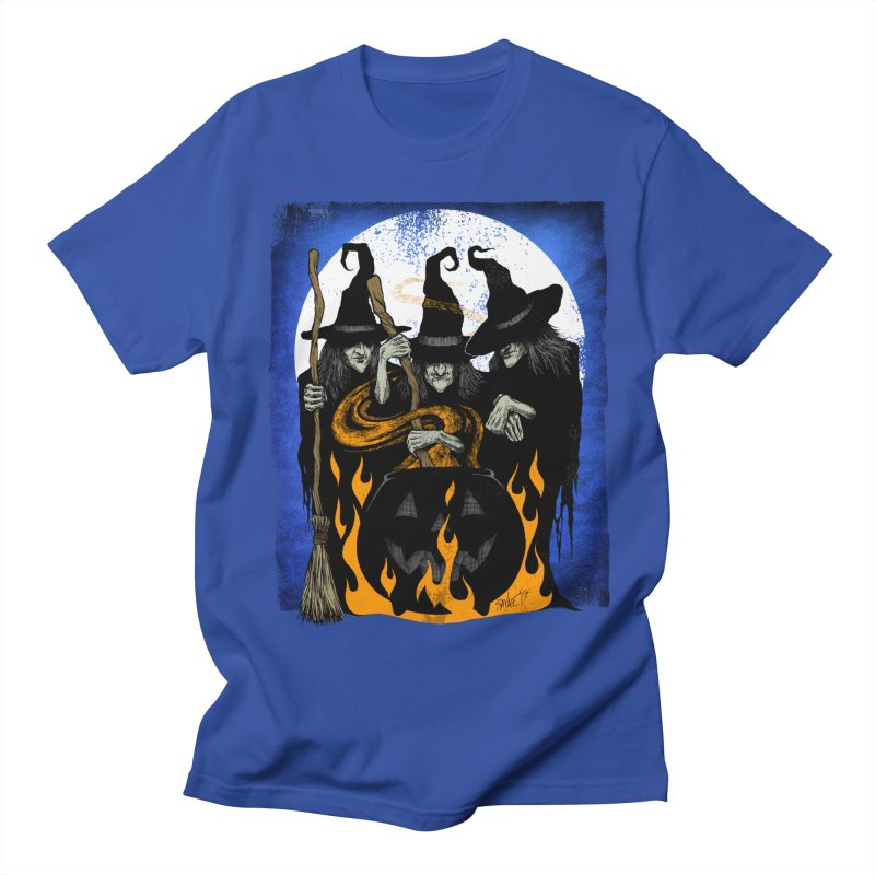 Cauldron Crones Women's Unisex T-Shirt by The Dark Art of Chad Savage