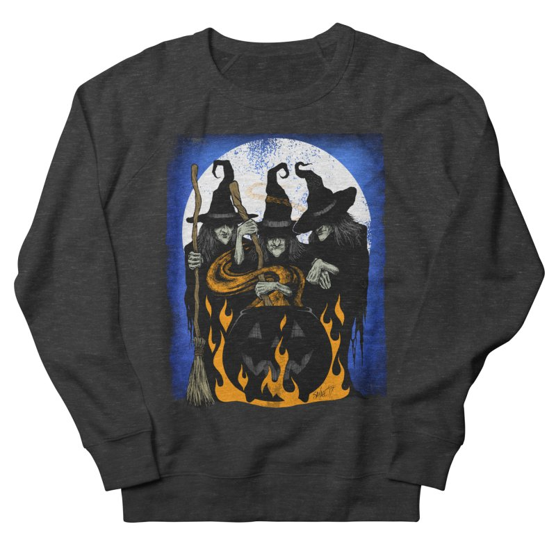 Cauldron Crones Men's French Terry Sweatshirt by The Dark Art of Chad Savage